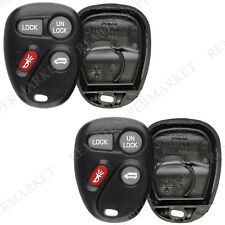 2 Replacement for Pontiac 99-01 Montana 97-98 Trans Sport Remote Shell Case Pad