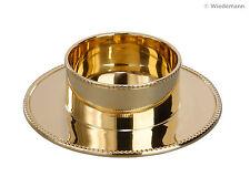 Kerzenständer Gold für Ø 50mm Kerzen/ Kommunion/ Taufe / Konfirmation usw. NEU