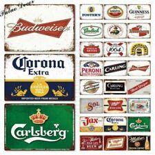 Plaques émaillées anciennes publicitaires de collection en boisson alcoolisée