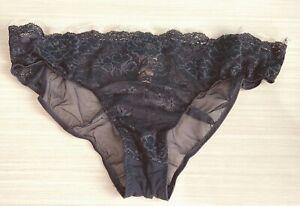 NWT Victoria's Secret Blue Sheer Sexy Mesh Cheeky Panties - M