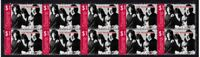 THE DOORS STRIP OF 10 MINT VIGNETTE STAMPS, JIM MORRISON 5