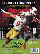 Nick Bosa Autographed San Francisco 49ers Sports Illustrated Magazine BAS 25924