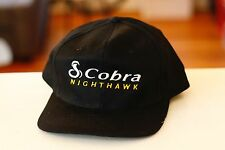Rare Vtg Cobra Nighthawk Mesh Trucker Snapback Hat Cap