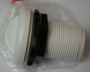"""Balboa 10-2100WHT 1.75"""" HS 2.62"""" FD 1"""" Slip Air Control - White 10-2100-WHT -New"""