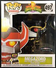 Funko Pop Mighty Morphin Power Rangers Megazord #497 Power Morphicon Exclusive!