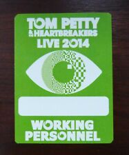 Tom Petty & the Heartbreakers - Live 2014 - Working Personnel Pass VIP