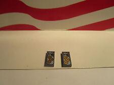 LEGO HARRY POTTER 1 PAIR WIZARD MONEY 1x2 TILES  GRINGOTT'S BANK SET 4714