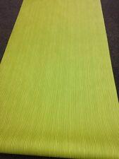 Marimekko Designer Lime & Olive Green Stripe Vinyl Wallpaper Modern Teen Kids