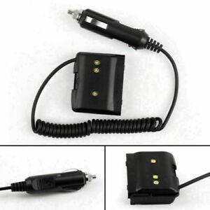 1x Car Charger Battery Eliminator Adapter For Yaesu VX-7R VX-6R VX-5R Radio  CE