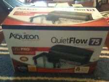 Aqueon QuietFlow 75 LED Pro Power Filter fish Aquariums up to 90 gal