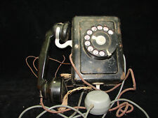 Ancien téléphone, 1924, bakélite et métal