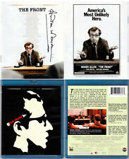 Blu-ray Woody Allen THE FRONT Signed by ANDREA MARCOVICI Twilight Time A/B/C NEW