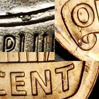 2018 - MULTIPLE DIE CRACKS + CUD - LINCOLN SHIELD CENT MAJOR MINT ERROR #7264