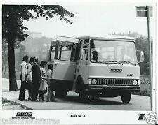 FIAT VEICOLI INDUSTRIALI FIAT 50 A1 BUS MINI BUS IVECO FOTOGRAFIA ORIGINALE