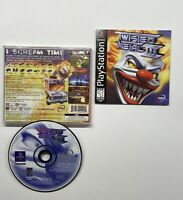 Twisted Metal III 3 (Sony PlayStation 1, 1998) Black Label COMPLETE!! PS1