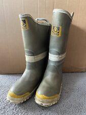 Servus Firefighter Steel Toe Fire Wide Boots Mens Size 8W Womens 9W. Lot X120