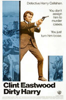 "DIRTY HARRY Movie Poster [Licensed-NEW-USA] 27x40"" Theater Size Eastwood 1971"