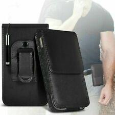 Verticale Fondina Cintura Clip Sacchetto Loop Custodia Cover Telefono E Stilo Di
