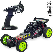 2WD RC Monster Truck Off-Road Vehicle 2.4G Remote Control Buggy Crawler Car