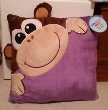 NWT Plush Purple Monkey Pillow Friends