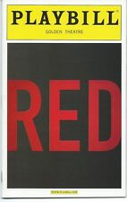 RED Playbill Eddie Redmayne FANTASTIC BEASTS THEORY OF EVERYTHING  Alfred Molina
