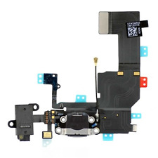 iPhone 6 Plus Black Charging Dock Port Headphone Audio Jack Flex Cable UK STOCK