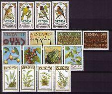Venda 1985 set of 4 sets unhinged mint