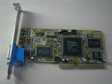 Trident 3DImage 9750 Rev 5.2 AGP 4MB VGA Graphics video card TEST OK!
