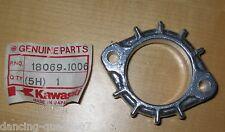ORIGINALE Kawasaki supporto marmitta curva Z 305 550 650 750 Holder EXHAUST PIPE