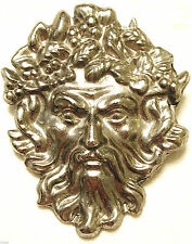 VINTAGE BACCHUS DIONYSUS GOD OF WiNE INTOXICATION PIN MYTHOLOGY *RARE* SPHINX