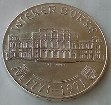 25 Schilling 1971. Wiener Börse, Austria silver coin, Silver (.800) !