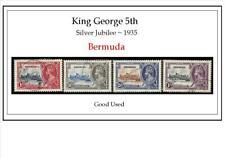 Bermuda    King George Silver Jubilee  1935         good used