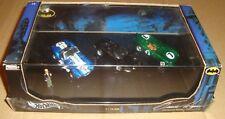Hot Wheels Bruce Wayne Collection Limited 1/10000 Shelby/ferrari/jaguar (batman)