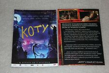 Koty - Cats - 2019 - Polish promo FLYER - ULOTKA