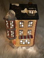 Dickens Collectibles Porcelain Lighted House, TOY SHOP, EUC/box