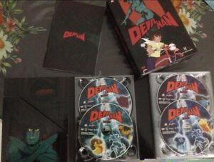 DEVILMAN LA STORICA SERIE COMPLETA 39 EP. IN DVD ORIGINALE + OAV TUTTO ITALIANO