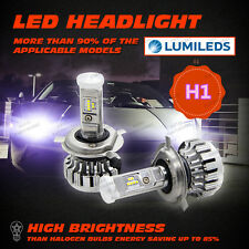 H1 180W 19000LM PHILIPS LED HEADLIGHT KIT HIGH LOW BEAM REPLACE HALOGEN XENON