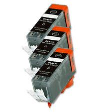 3 BLACK Ink Cartridge for Canon Printer PGI-220BK MP640 MX860 MX870