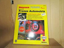 HAYNES Manual En Espanol  Frenos Automotrez Haynes 98910