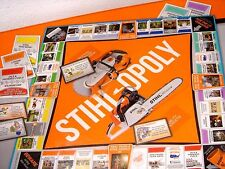 STIHLOPOLY Monopoly Stihl Board Game RARE Collectible NEVER OPENED
