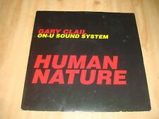 """GARY CLAIL ON U SOUND SYSTEM - HUMAN NATURE /(PERFECTO 12"""")"""