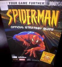 Spider-man Official Strategy Guide Brady Games EUC, Nice Rare.
