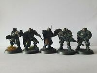 Warhammer 40k Space Marine Scout Squad Converted Primaris