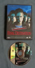 FINAL DESTINATION dvd Nederlandse Ondertitels English Audio PAL Thriller film OK