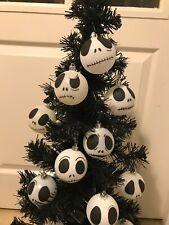 Nightmare Before Christmas Jack Skellington Baubles Halloween X9