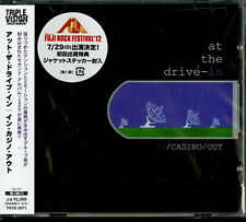 AT THE DRIVE-IN-IN / CASINO / OUT-IMPORT CD WITH JAPAN OBI E00