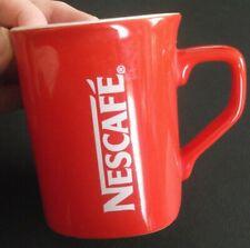 Rare Vintage Nestle NESCAFE Red Coffee Cup/Mug Ceramic 250 ml / 8 fl oz PREOWNED