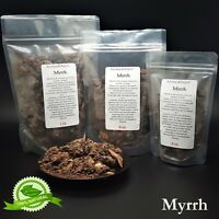 Premium MYRRH RESIN Tears Gum Sap Rock Incense ORGANIC 1oz 4 oz 8 oz 1lb - 5 lbs