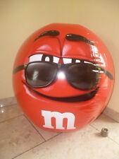 M&M M&M's Roter Wasserball Beach Ball Urlaub Werbung Neu Ovp