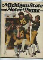 1979 Michigan St vs Notre Dame football program MBX18